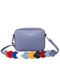 433 Denim - Denim Multi Strap Cross Body Bag