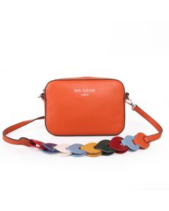 433 RUST - Rust Multi Strap Cross Body