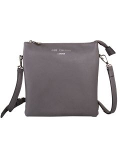 437 GREY - Grey Tall Cross Body Bag