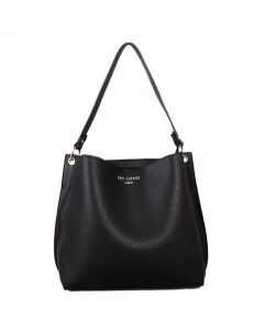 439 BLACK - Black Shoulder Bag