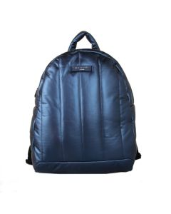492 BLUE - Blue Soft Quilted Backpack