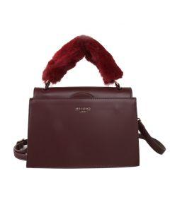 499 BURGUNDY - Burgundy Fluffy Handle Grab Bag