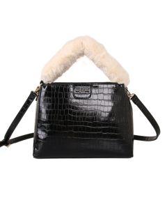 500 BLACK - Black Fluffy Handle Grab Bag